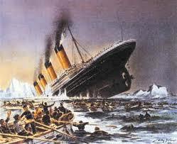 Sfârşitul Titanicului...trist, nu?