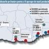 Silozuri-gigant pentru colectarea si transportul cerealelor de-a lungul Dunarii in Romania