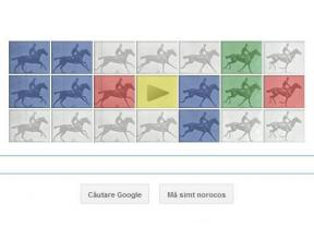 Google are un logo nou, prin care este sarbatorit fotograful Eadweard J. Muybridge