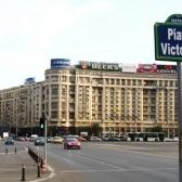 In Piata Victoriei se toarna asfalt