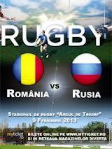 Stadionul Arcul de Triumf : Nationala Romaniei a invins echipa Rusiei cu scorul de 29-14