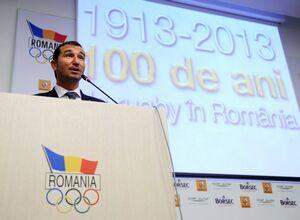 """Federatia Romana de Rugby a sarbatorit, la Complexul Olimpic """"Sydney 2000"""" de la Izvorani,100 de ani de la infiintare"""