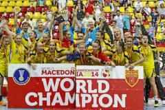 Romania a castigat medaliile de aur la Campionatul Mondial Under 18