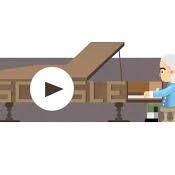 GOOGLE sarbatoreste 360 de ani de la nasterea inventatorului pianului, italianul BARTOLOMEO CRISTOFORI