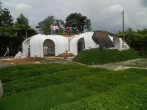 Magic Green Homes a lansat un kit pentru a construi in 3 zile o casa de hobbit