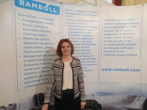 Ramboll South East Europe participa la Expo Apa de la Palatul Parlamentului