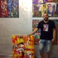 Marcel Thiele, singurul pictor german care isi expune lucrarile la Art Safari