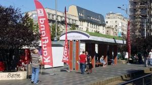 34 de statii de tramvai din Bucuresti vor fi acoperite de vegetatie