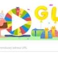 Google marcheaza 19 ani de existenta printr-un nou doodle: Roata norocului