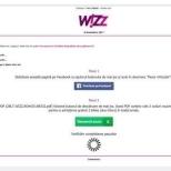 Teapa cu bilete gratuite la WizzAir care circula pe Facebook