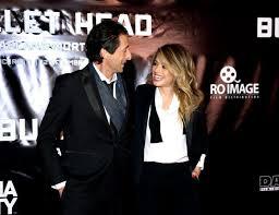Adrien Brody si Alexandra Dinu au sosit in Romania pentru lansarea filmului Bullet Head. Capcana mortala