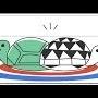Ziua a doua a Jocurilor Olimpice de Iarna este marcata de Google cu un Doodle Snow