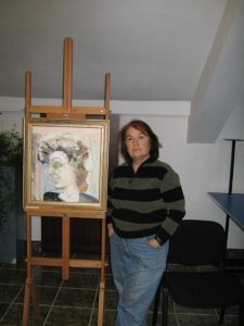Muzeul Municipal Calarasi: Expozitie de pictura a artistei Cornelia Victoria Dedu