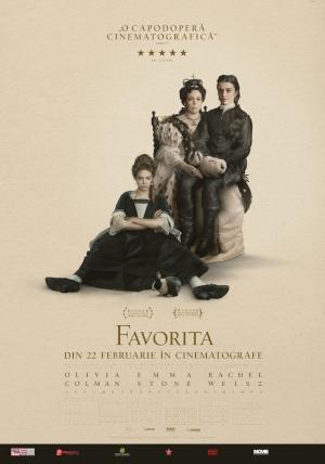 Filmul Favorita, cu Emma Stone si Rachel Weisz