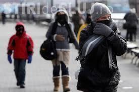 Vreme rece, de iarna, in Bucuresti,  in ziua de luni, 2 decembrie 2019